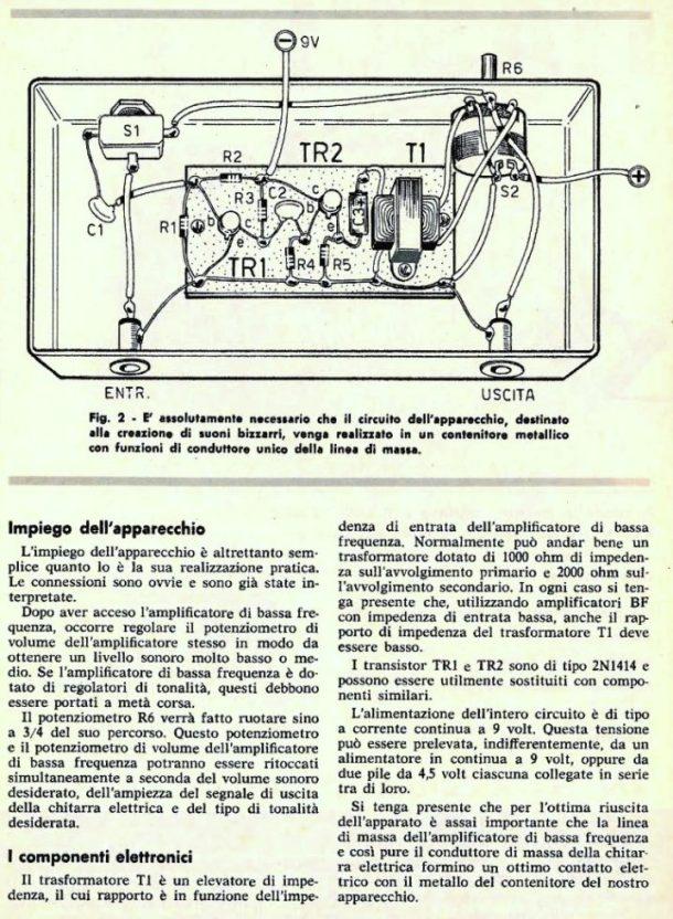 Schema Cablaggio Chitarra Elettrica : Schema elettrico effetti chitarra fare di una mosca