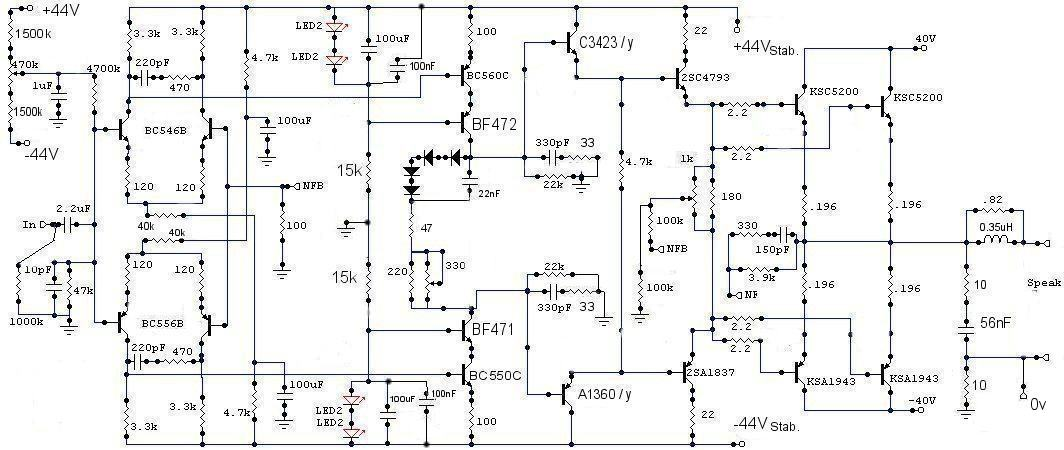 Schema Elettrico Amplificatore Valvolare Per Chitarra : Schema elettrico amplificatore fbt fare di una mosca