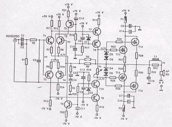schema elettrico fbt